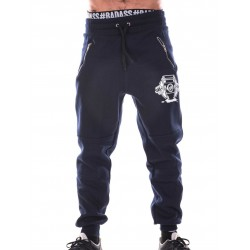 Jogging Crossfit Homme - Navy Blue Pants, Coffee