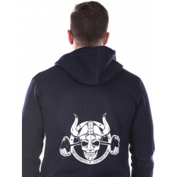 Sweat Homme Bleu NS Barbell Viking pour CrossFiteur - NORTHERN SPIRIT