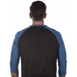 T-shirt Manches 3/4 Homme Noir Broken Skull pour CrossFiteur - NORTHERN SPIRIT