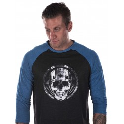Grossiste T-shirt Crossfit Manches longues Homme Broken SkulL