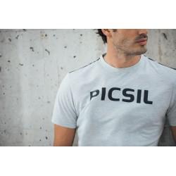 Training T-shirt grey CORE for men | PICSIL