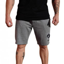 Short gris FLEX homme | VERY BAD WOD x WILL LENNART TATOO