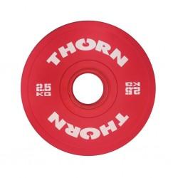 THORN+FIT EQUIPMENT Disque Bumper Plate 2,5 KG