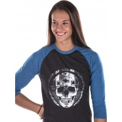 Boutique T-shirt Crossfit Manches longues Femme - 3/4 Broken Skull
