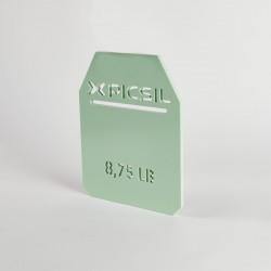 Plaques vertes 9 KG de charge pour gilet | PICSIL