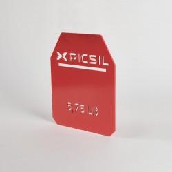 Plaques rouges 6 KG de charge pour gilet | PICSIL