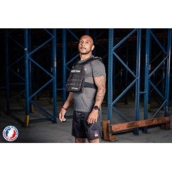 Plate carrier + 9 Kg curved curved – LEVEL ADDICT