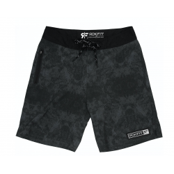 Men's black and grey GRANITE shorts | ROKFIT
