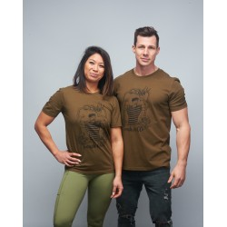 T-shirt unisexe vert FRENCH WOD| VERY BAD WOD x WILL LENNART TATOO