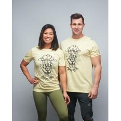 T-shirt unisexe jaune RIP MY GRIP | VERY BAD WOD x WILL LENNART TATOO