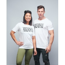 Unisex T-shirt white A10| VERY BAD WOD x WILL LENNART TATOO