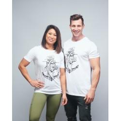 T-shirt unisexe blanc INK YOUR WOD | VERY BAD WOD x WILL LENNART TATOO