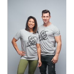T-shirt unisexe gris GET THE JOB DONE| VERY BAD WOD x WILL LENNART TATOO