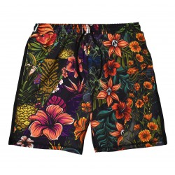 Training short HYBRIDE ALL OHA multicolor for men | PROJECT X