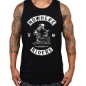 Black tank NOWHERE RIDERS for men   PROJECT X
