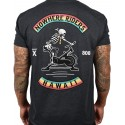 T-Shirt homme gris chiné HAWAI NOWHERE RIDERS | PROJECT X