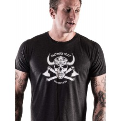 Grossiste T-Shirt Crossfit - Black Viking