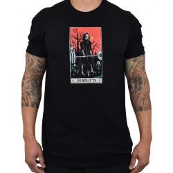 T-Shirt Homme noir DEADLIFTS TAROT CARD | PROJECT X