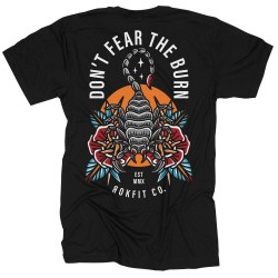 T-shirt black ROK YOUR WOD for men | ROKFIT