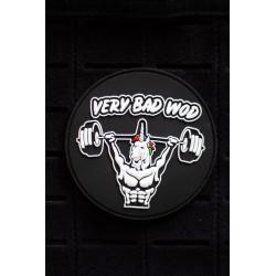 Patch PVC 3D velcro noir UNICORN SOLDIER pour athlète | VERY BAD WOD