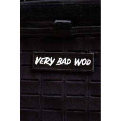Patch PVC 3D velcro logo VERY BAD WOD pour athlète | VERY BAD WOD