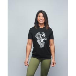 T-shirt unisexe noir GORILLA OPS | VERY BAD WOD x WILL LENNART TATOO