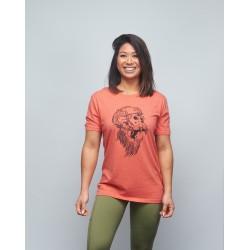 Unisex T-shirt heather red GORILLA OPS| VERY BAD WOD x WILL LENNART TATOO