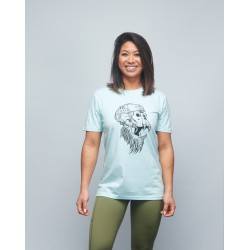 Unisex T-shirt green clear GORILLA OPS| VERY BAD WOD x WILL LENNART TATOO