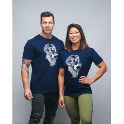 T-shirt unisexe bleu navy GORILLA OPS | VERY BAD WOD x WILL LENNART TATOO