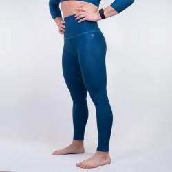 Legging Femme bleu pétrole PERFORMANCE pour Athlète by WODABLE
