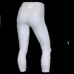 Training legging grey sport HIGH WAIST for women | SAVAGE BARBELL