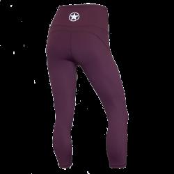 Training legging purple sport HIGH WAIST for women | SAVAGE BARBELL