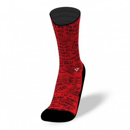 Chaussettes rouges HERO WODS | LITHE APPAREL