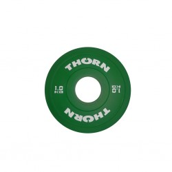 Disque Bumper Plate 1 KG | THORN+FIT EQUIPMENT