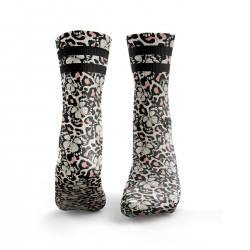 Chaussettes Butterfly Print with Leopard Print| HEXXEE SOCKS