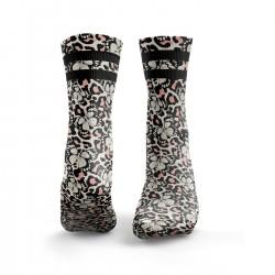Socks workout Butterfly Print with Leopard Print – HEXXEE SOCKS