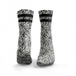Chaussettes Butterfly Print with Zebra Print| HEXXEE SOCKS