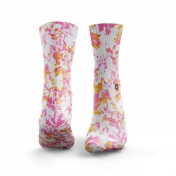 Pink and Orange Socks workout Splash – HEXXEE SOCKS