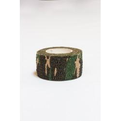 Protection doigts entrainement 2.5 mm x 4.5 m - Vert Camo