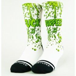 Chaussettes blanches FUCK BURPEES | WODABLE