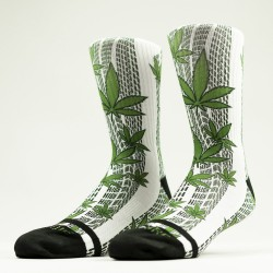 Chaussettes blanches HIGH LIFE | WODABLE