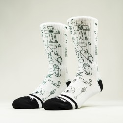 Chaussettes blanches NEW VOODOO | WODABLE