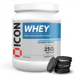 Whey Protéines COOKIES N' CREAM - 960 Gr | ICON NUTRITION