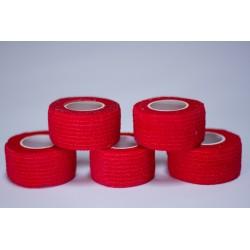 Pack de 5 Finger Tape Camo 2.5 mm x 4.5 m Taille unique