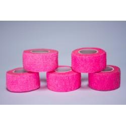 Pack de 5 Finger Tape protection doigts Rose pour Athlète by TD