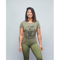 Unisex T-shirt green FRENCH WOD  VERY BAD WOD x WILL LENNART TATOO