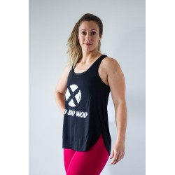 Débardeur sport Femme Noir VBW by VERY BAD WOD