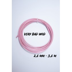 Pink cable 2.5 mm and 3.5m   VERY BAD WOD