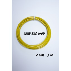 Yellow cable 2.5 mm - 3 m | VERY BAD WOD