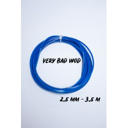 Blue cable 2.5 mm - 3.5m   VERY BAD WOD